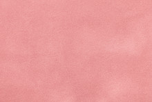 Pink Matt Suede Fabric Closeup...