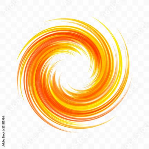 Abstract swirl design element Wallpaper Mural