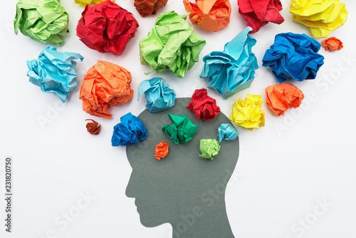 Mental health image Fototapeta