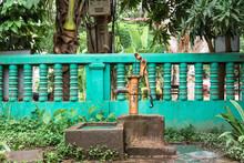 Old Vintage Water Pump