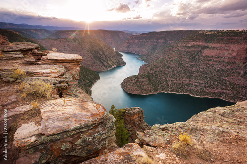 Fotografía Flaming gorge