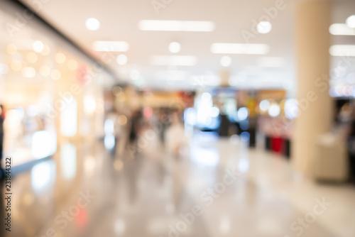 Obraz Abstract blurred image of shopping mall - fototapety do salonu
