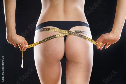 Fotografie, Obraz  Beautiful slim woman's body