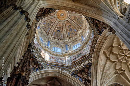 Fotografía  New Cathedral of Salamanca, Salamanca City, Spain, Europe
