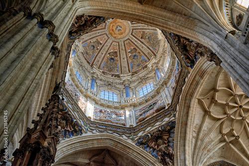 New Cathedral of Salamanca, Salamanca City, Spain, Europe