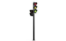 Traffic Lights 3D Illustration 3d Render 3840x2399