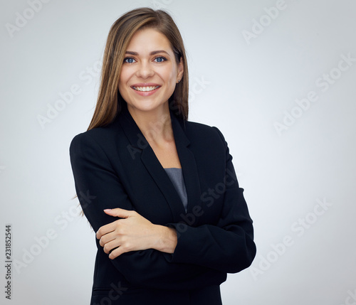 Fotografie, Obraz  Businesswoman isolated professional portrait