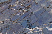 Texture Of Wild Crushed Stone