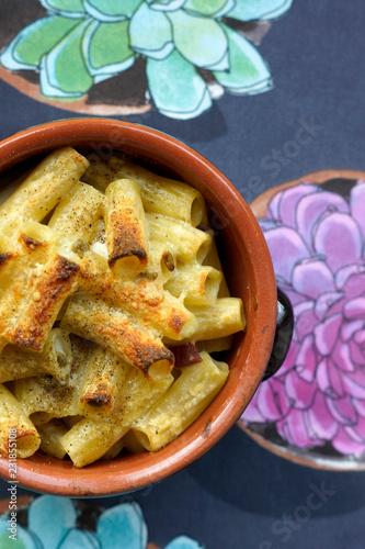 Fényképezés  Pasta al forno fatta in casa