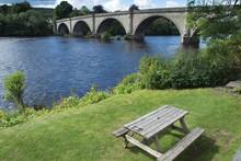 Old Vintage Bridge In Dunkeld ...