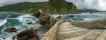 Path To San Juan De Gaztelugatxe, Ultra Wide Panorama
