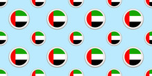 UAE Round Flag Seamless Patter...