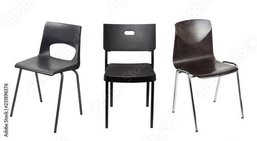 Fotografie, Obraz  Black chair