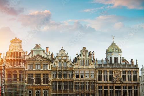 Staande foto Brussel Grand Place
