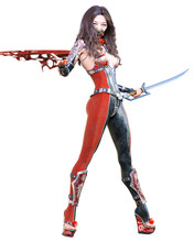 3D Sexy Japanese Assassin Woma...