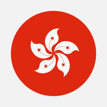 Hong Kong Flag Circle