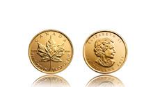 Goldmünze Canadian Maple Leaf...