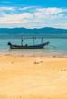 Bay with fishing boats, Koh Phangan