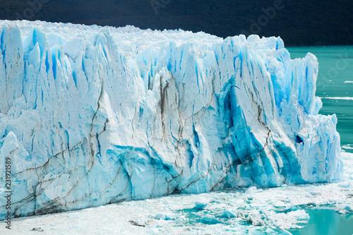 Spoed Foto op Canvas Gletsjers Glacier Perito Moreno, southeast of Argentina