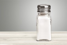 Salt Shaker On White