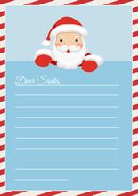 Letter Merry Christmas. Letter...