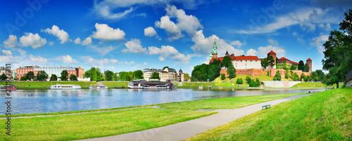 Fototapeta Wawel in summer,Krakow,Poland obraz