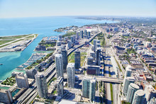 Aerial View Of Toronto Citysca...