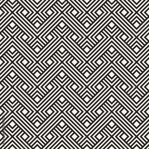 In de dag Boho Stijl Vector seamless pattern. Modern stylish abstract texture. Repeating geometric tiles