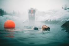 Alaskan Hot Springs Woman