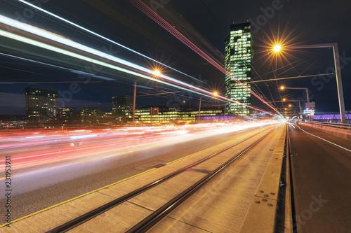 Foto op Canvas Stad gebouw Prime Tower Zürich