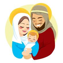 Nativity Scene Of Baby Born Bi...
