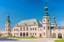 Baroque Castle, Bishop S Palace In Kielce, Poland, Europe.