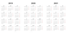 Kalender 2019 , 2020, 2021 Kal...