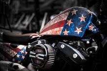 American Motorbike. Motorradme...