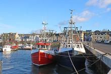 Fishing Boats In Stranraer Har...