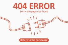 404 Error. Page Not Found Temp...