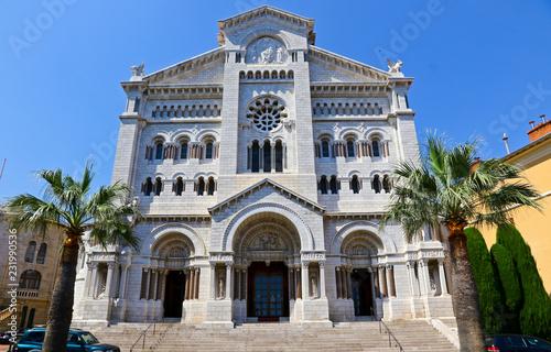 Monaco Cathedral (Cathedrale de Monaco) in Monaco-Ville, Monaco
