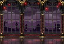Ballroom Design Background Wallpaper