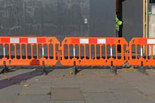 Orange Construction Barrier Lo...