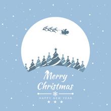 Merry Christmas With Santa Cla...