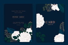 Wedding Invitation, Floral Inv...