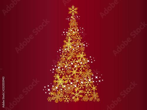 Obraz クリスマスツリー - fototapety do salonu