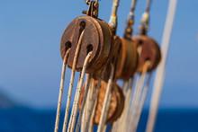 Old Ship Tackles. Old Sailing ...