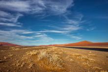 Namib Desert In Sossusvlei In ...