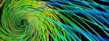 Abstrakter Hintergrund mit Linien als Spirale