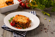 Cottage Pie With Beef And Pota...