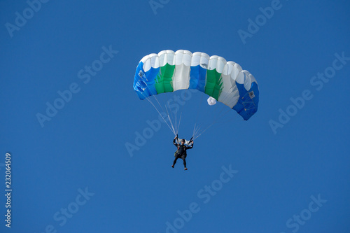 skydivers in the sky, East European Accuracy Skydive Cup