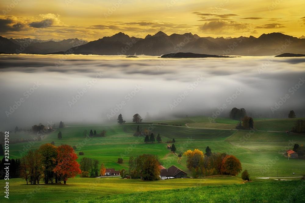 Fototapety, obrazy: Auerberg