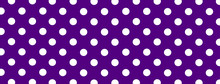 Purple Polka Dot Banner