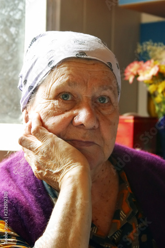 Poster Inspiration painterly Grandmother